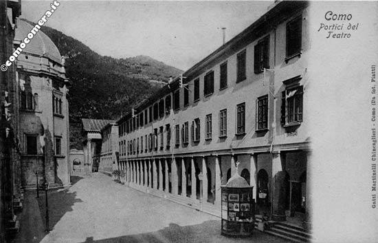 Portici del Teatro - Via Maestri Comacini